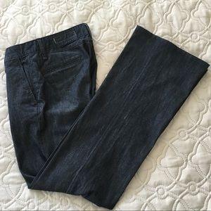 Rag & Bone Wide-Leg Denim Trousers